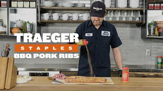 How to Cook BBQ Pork Ribs | Traeger Staples