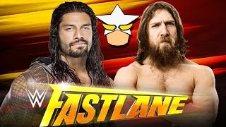 Roman Reigns vs Daniel Bryan FastLane 2015   Funny WWE 2K15 Simulation