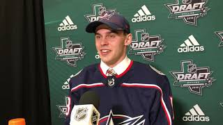 The newest Blue Jacket: Liam Foudy