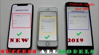 iCloud Unlock 2019✔️Remove/Bypass iCloud Activation Lock✔️All Models iPhone Any iOS 1000% Working✔️