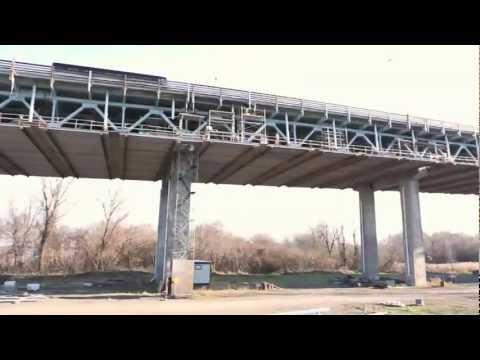Projet de réfection de la section fédérale du pont Honore-Mercier : travaux accomplis en 2012 et prévus en 2013.