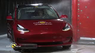 Tesla Model 3 Crash Test - Europ NCAP Safety Test