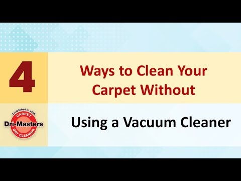 How to Clean Your Carpet Without Using a Vacuum Cleaner?