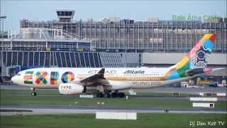 Etihad 'EXPO MILANO 2015' Livery Take Off Dublin Airport