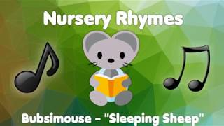 """Bubsimouse Rhymes for children """"Sleeping Sheep"""" 