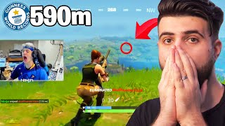 Reacting to the Greatest Snipes in Fortnite History...
