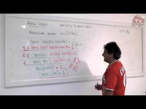 Matemática - Trigonometria (Arco Duplo)