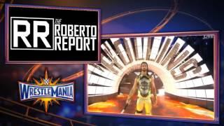 Wrestlemania 33 Seth Rolllins Entrance  Seth Rollins incendia el ring  En Español