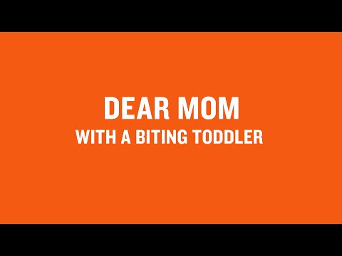 Dear Mom With A Biting Toddler