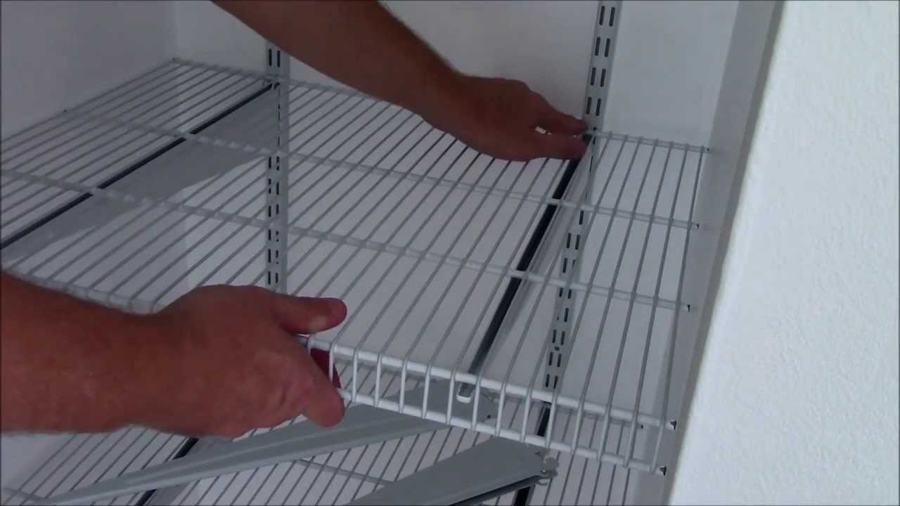 Install Closetmaid Shelftrack In Depth Youtube