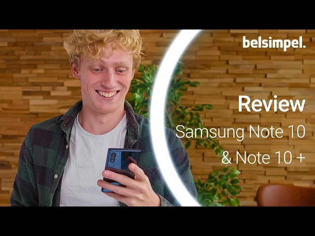 Belsimpel-productvideo voor de Samsung Galaxy Note 10