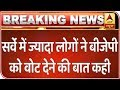 With Priyanka Coming Into Cong, 38% Will Vote For BJP | ABP News