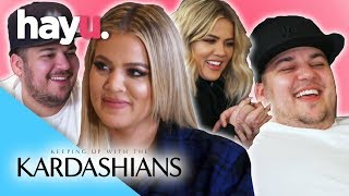 Khloé & Rob's Best Moments   Keeping Up With The Kardashians