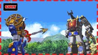 Siêu nhân cuồng phong 3D đi cảnh #4 - cu lỳ chơi game Ninpu Sentai Harikenger power rangers ps one