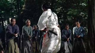 Three Ronin vs. 100 Samurai epic slaughter