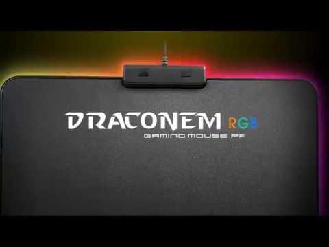 Tt eSPORTS - DRACONEM RGB Gaming Mouse Pad
