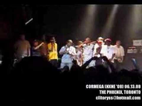 CORMEGA - INTRO + AMERICAN BEAUTY *LIVE* (1min CLIP)