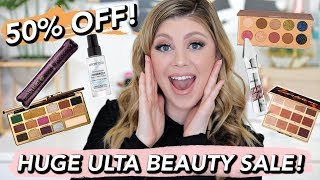 50% OFF ULTA 21 DAYS OF BEAUTY!   MY RECOMMENDATIONS!