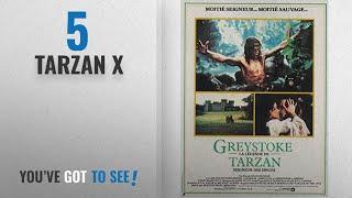 Top 10 Tarzan X [2018]: Greystoke: The Legend of Tarzan, Lord of the Apes Poster Movie French (11 x