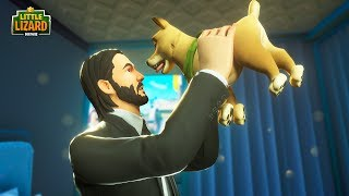 JOHN WICK GETS A NEW PUPPY!!! - Fortnite Short Film