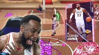 PINK DIAMOND LEBRON JAMES DISGRACE! NBA 2K19 MyTeam