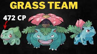 Bulbasaur Family Destroys Opponent Team in Pokemon Go Battle League!