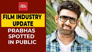 Prabhas appears in public months after being self quaranti..