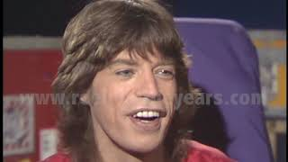 Mick Jagger (Rolling Stones-)- Interview 1981  [Reelin' In The Years Archives]