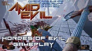 AMID EVIL - Hordes of Evil Játékmenet