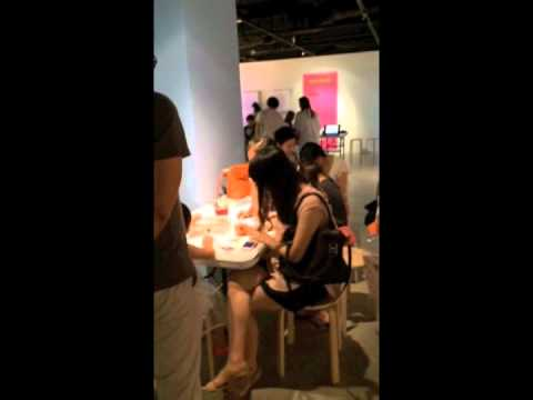 ANNA GILI ANIMALOVE Seoul Arts Center 2014 video 1