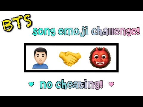 GUESS THE BTS SONG FROM THESE EMOJIS PT. 1