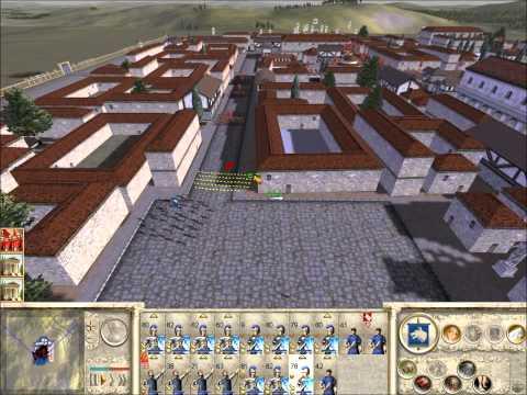 Rome Total War Online Battle #1983: 2 v 2 Siege (live-commentary)