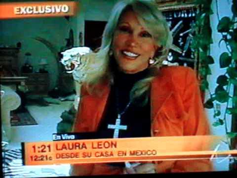 laura leon desde su casa en mexico d.f