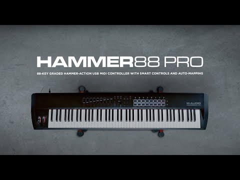 M-Audio Introducing Hammer 88 Pro