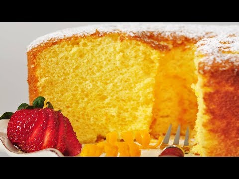Orange Chiffon Cake Recipe Youtube