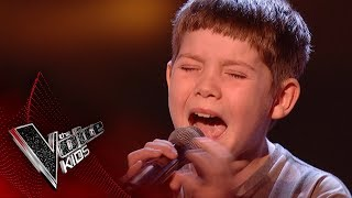 Jake performs 'All of Me': Blinds 2   The Voice Kids UK 2017