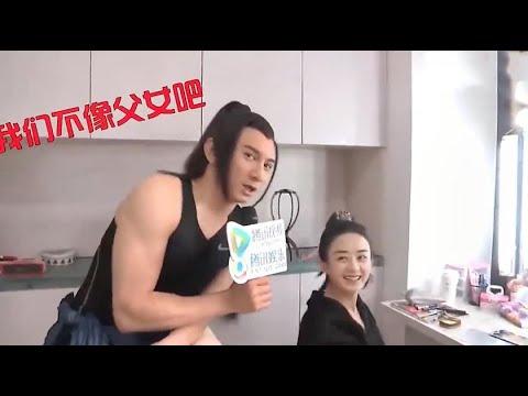 吴奇隆:我们两个不像父女吧?赵丽颖:真的很像!赵丽颖补刀合集