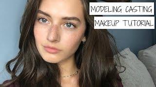 Model Casting Makeup Tutorial + ANNOUNCEMENTS | Jessica Clements