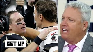 Rex Ryan reacts to Bucs vs. Saints: Tom Brady is all about winning, period!   Get Up