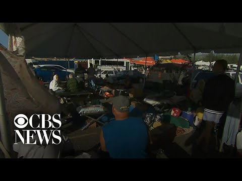 Thousands in Puerto Rico sleeping outside after earthquakes