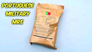 Testing Portuguese MRE Meal Ready to Eat