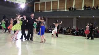 Gold Latin Cha Cha Semifinals (Natasha, Ryan)