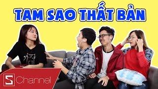"""Schannel - Cười té ghế với """"Tam Sao Thất Bản"""" phiên bản 2017 - Siêu hài, siêu bựa!!!"""