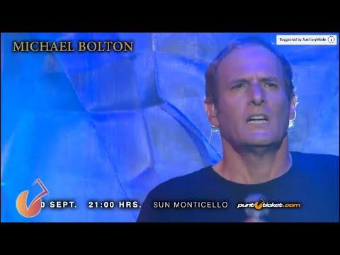 Michael Bolton en Chile | 10 de Septiembre Sun Monticello