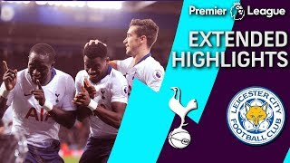 Leicester City v. Tottenham | PREMIER LEAGUE EXTENDED HIGHLIGHTS | 12/8/18 | NBC Sports