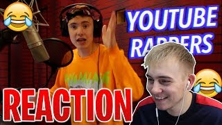 12 STYLES OF RAPPING! (YOUTUBER EDITION) ft. Ricegum, Jake & Logan Paul, KSI - REACTION!!!