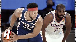 Philadelphia 76ers vs OKC Thunder - Full Game Highlights | July 26, 2020 | 2019-20 NBA Season