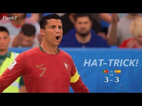 FIFA 18 World Cup 2018 Remake  PORTUGAL VS SPAIN 3-3  27f5c0ba5