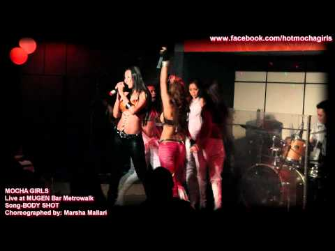 BODY SHOT live by Mocha Girls