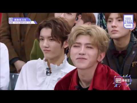 (偶像练习生) Idol Producer Episode 6 Funny Moments